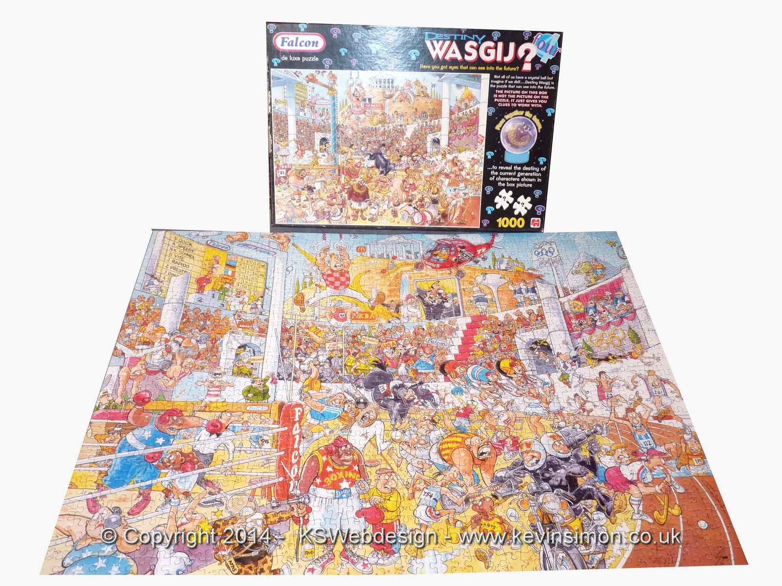 Wasgij Jigsaws completed solutions and full list of puzzles