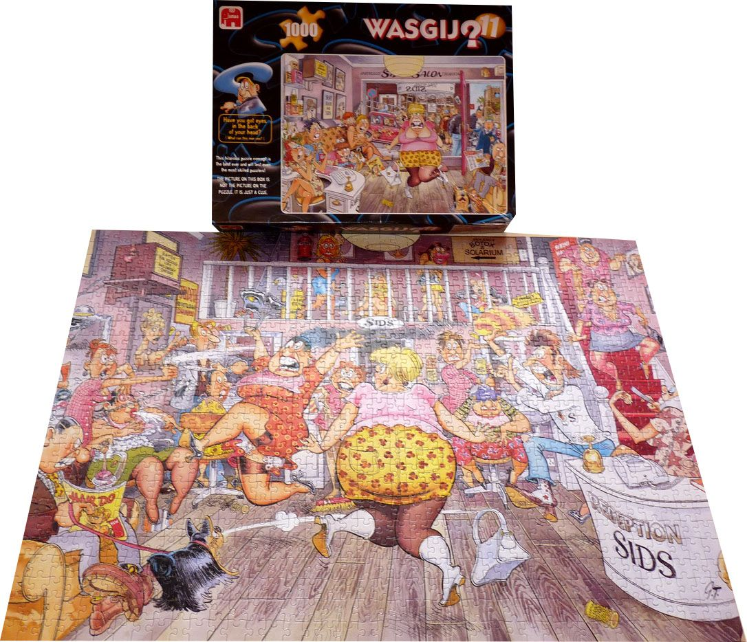 Wasgij Original 11 - Beauty Salon