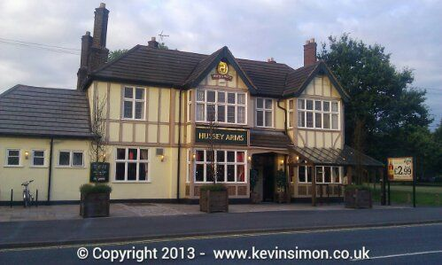 Hussey Arms pub, Brownhills