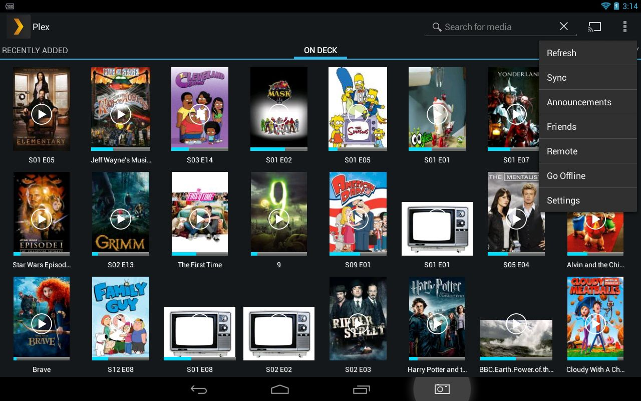 Using Plex Network Media Streaming Software