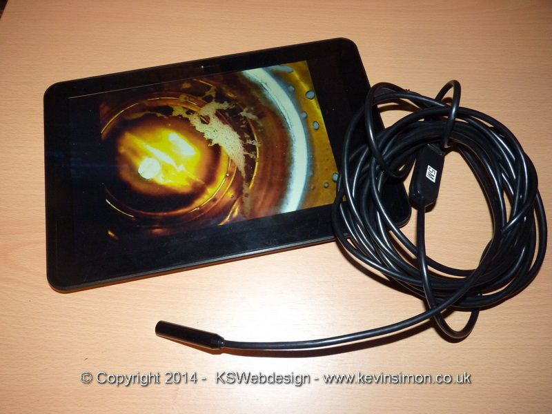 USB Waterproof Endoscope Review