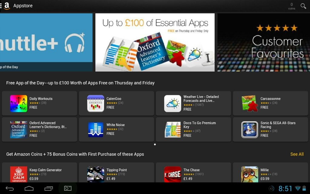 Amazon App Store Giveaway August 2014