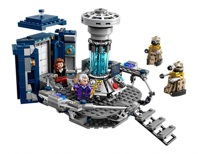 Official Doctor Who Lego Set