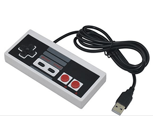 how to use usb controller with nes emulator