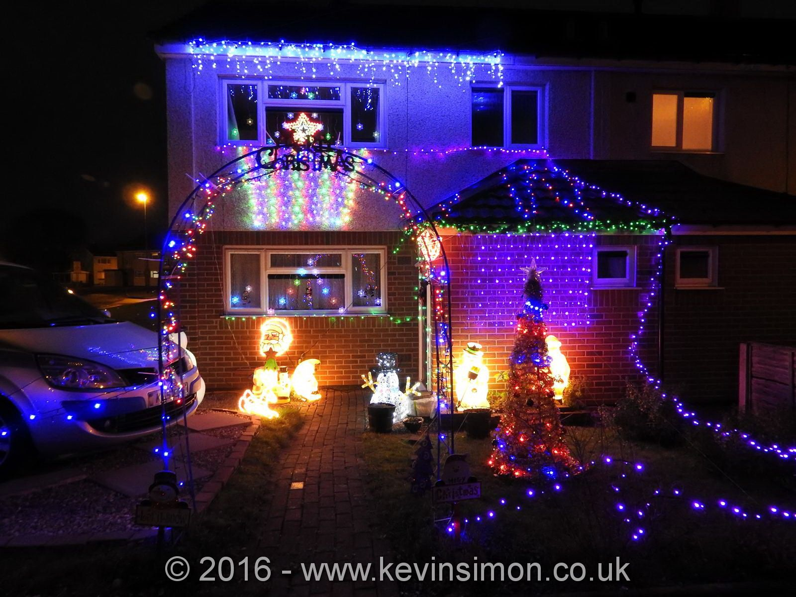Why do we decorate with christmas lights - Here Are A Few Photos From Our Annual Christmas House Display Lights This Year I Haven T Put As Much Up As We Would Normally Do