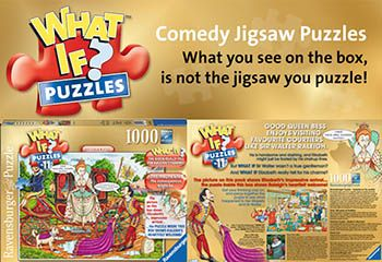 Completed Ravensburger What If Jigsaw Puzzles Solutions -